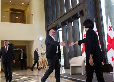 შეხვედრა პრეზიდენტთან