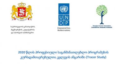 (ქარ) 2020 წლის კურსდამთავრებულთა კვლევის ანგარიში